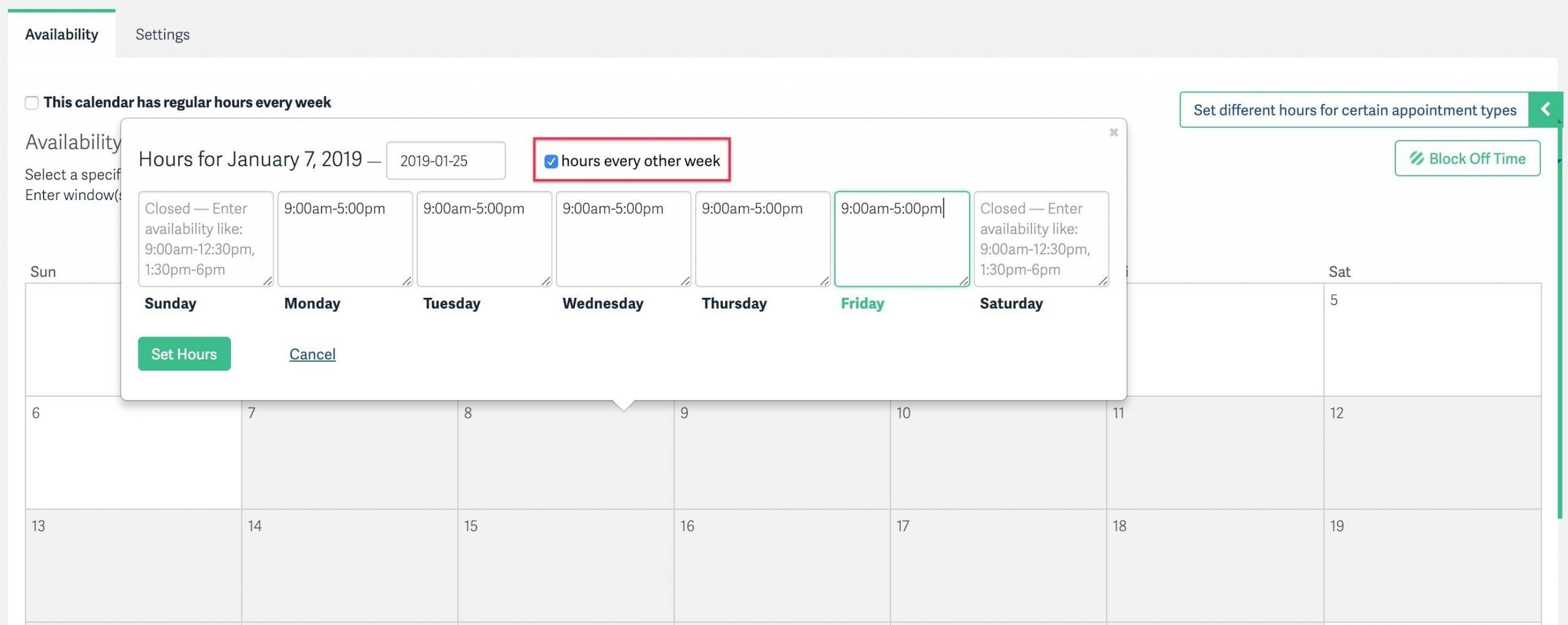 Every 3 Weeks Calendar Di 2020