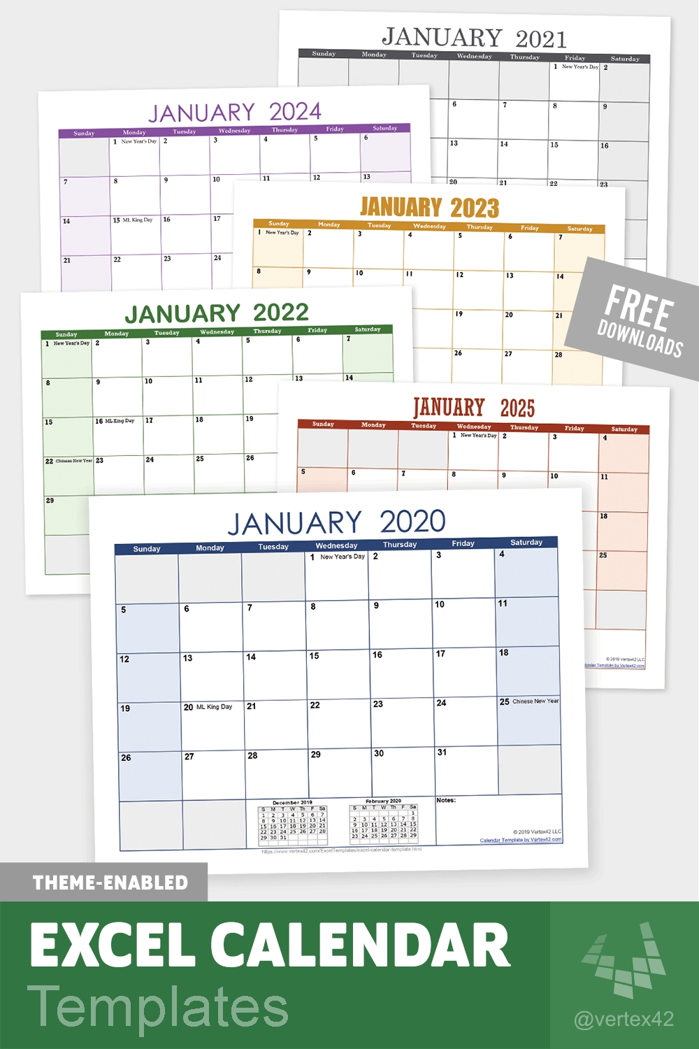 Excel Calendar Templates | Excel Calendar Template, Excel