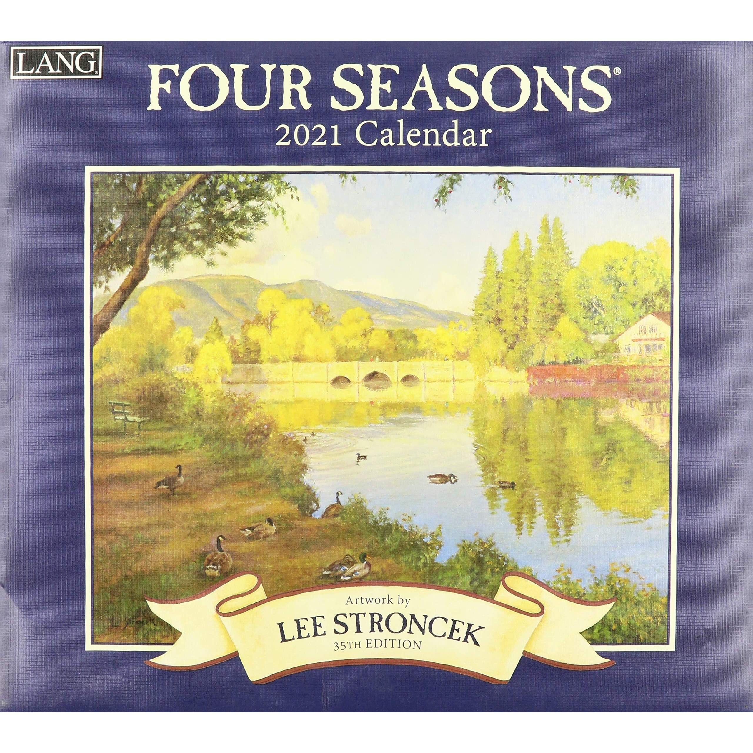 Four Seasons 2021 Calendarlee Stroncek