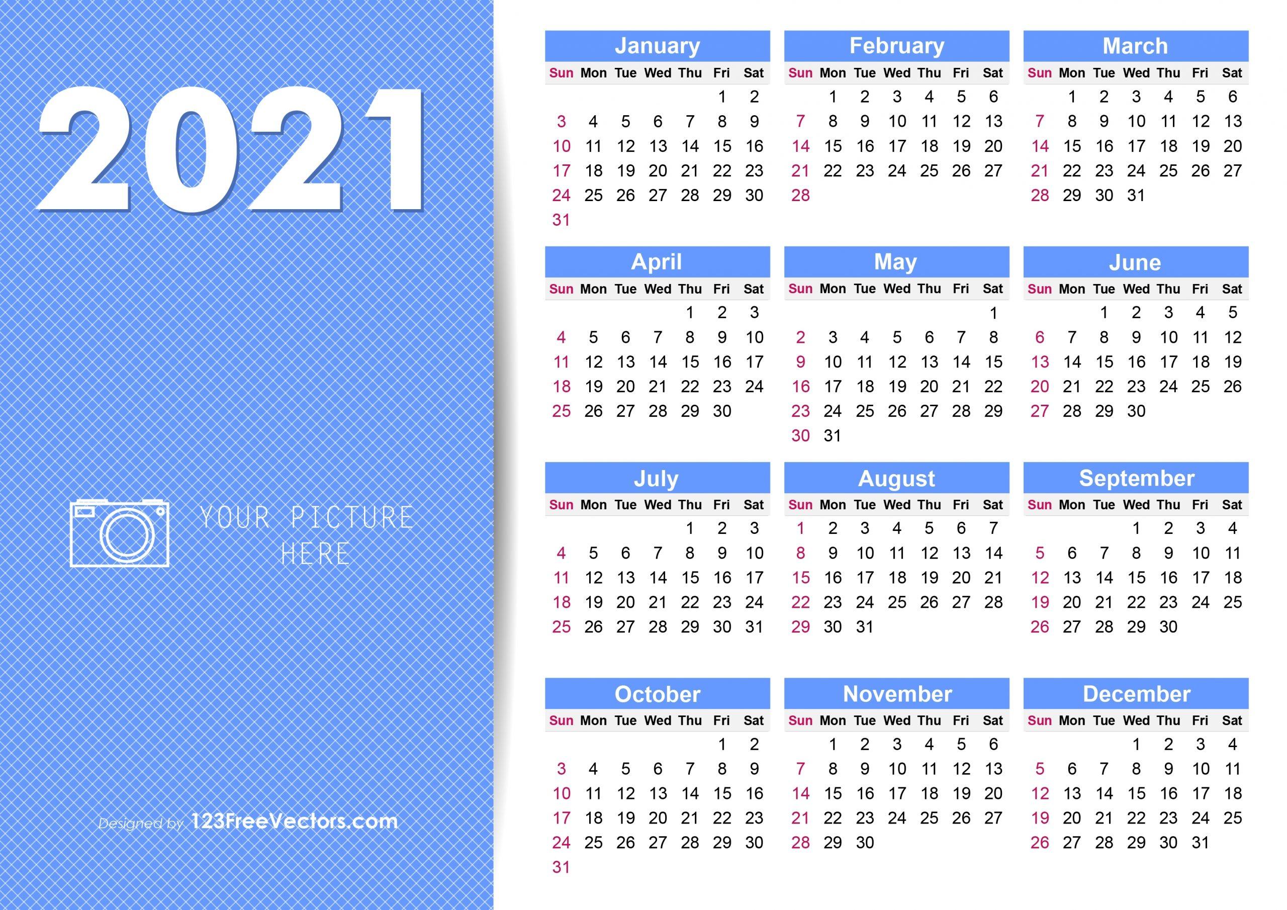 Free Printable 2020 Calendar With Week Numbers