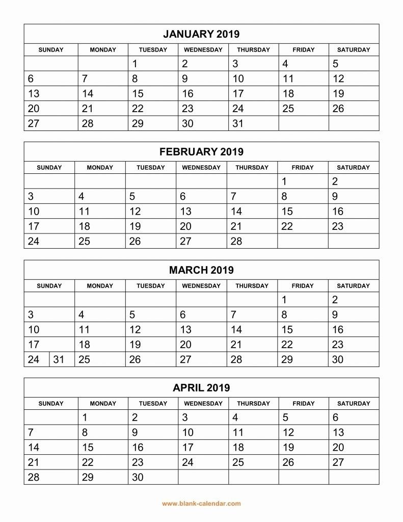Free Printable Large Grid Calendar In 2020 | Calendar