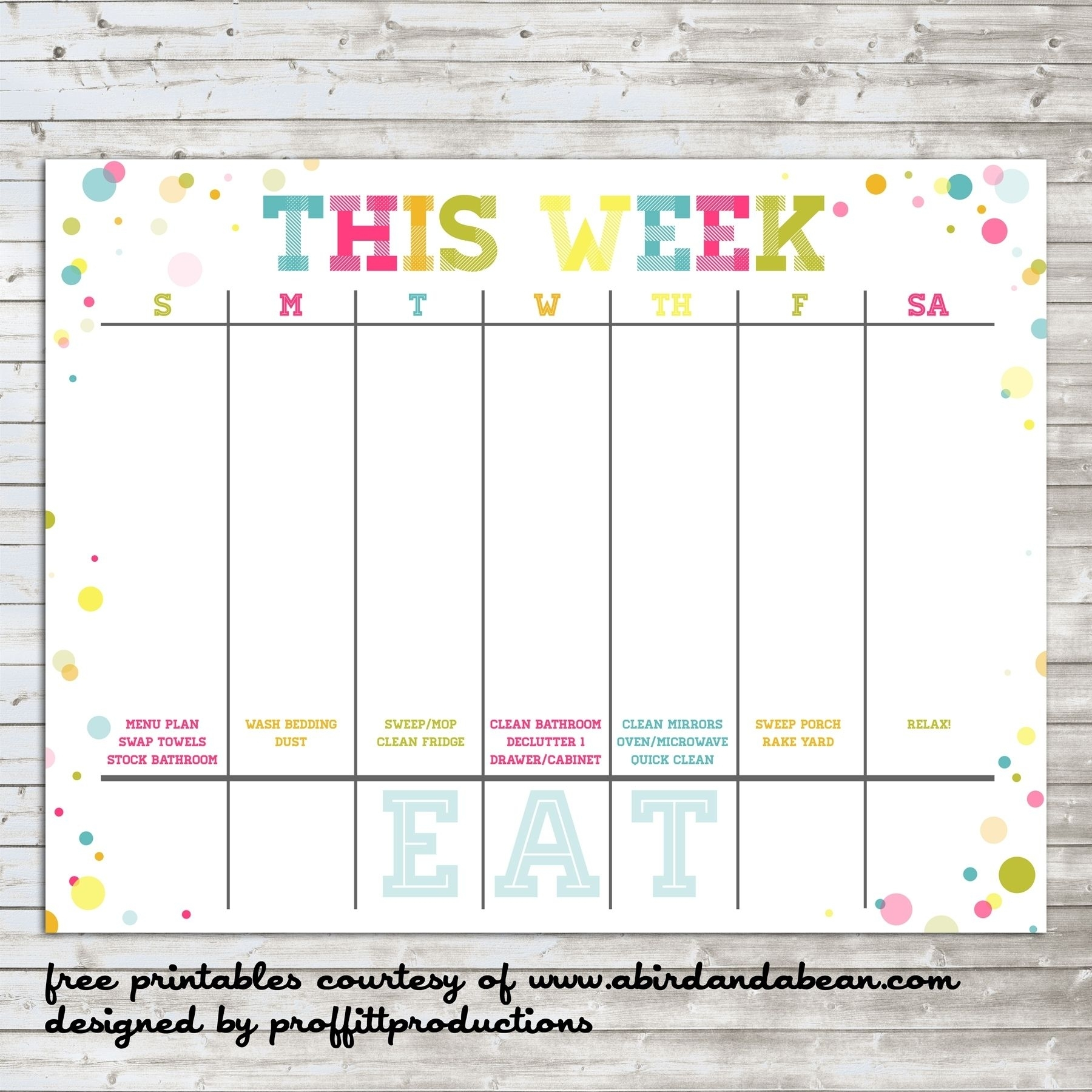 Free Printable Usable Calendars In 2020 | Weekly Calendar
