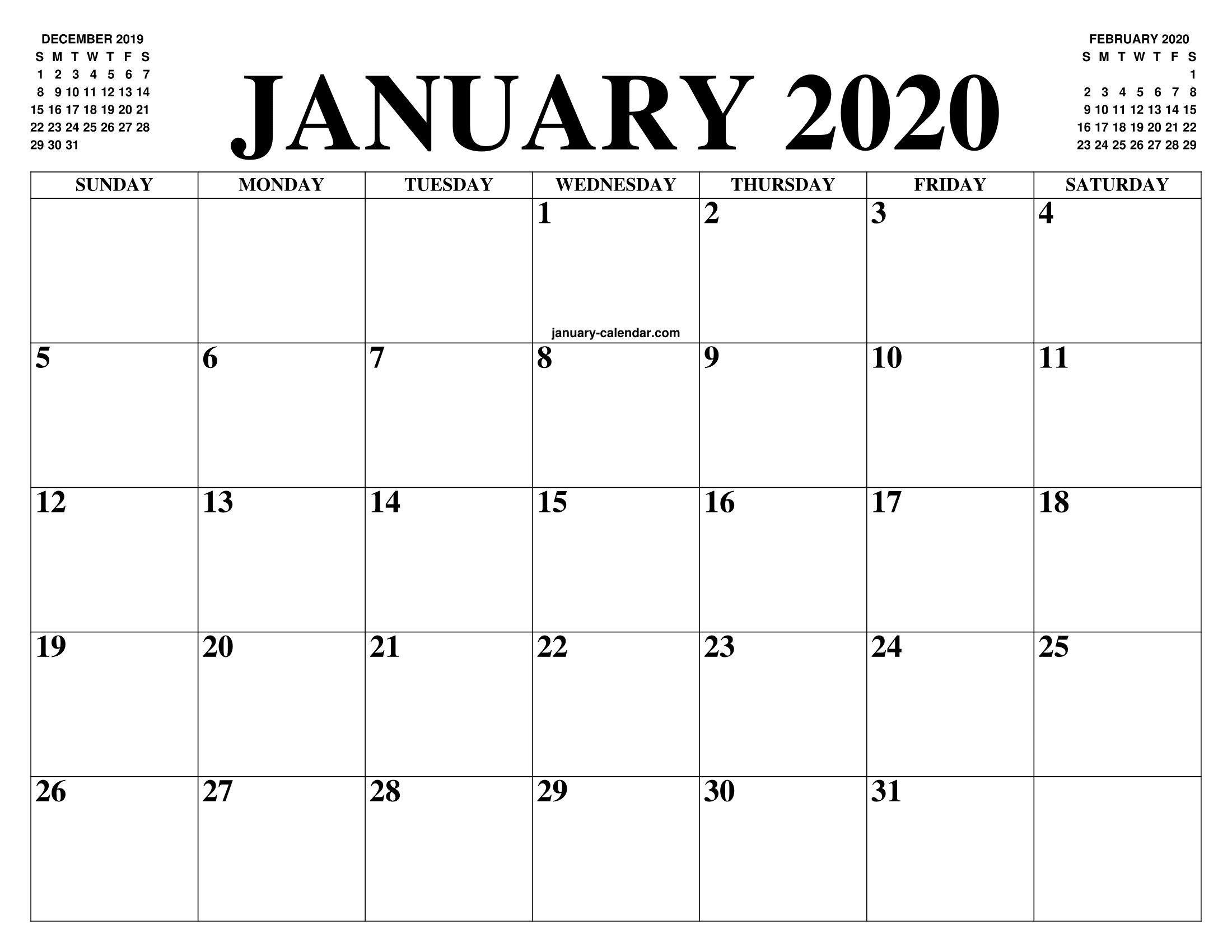 Google Calendar Template 2020 ~ Addictionary