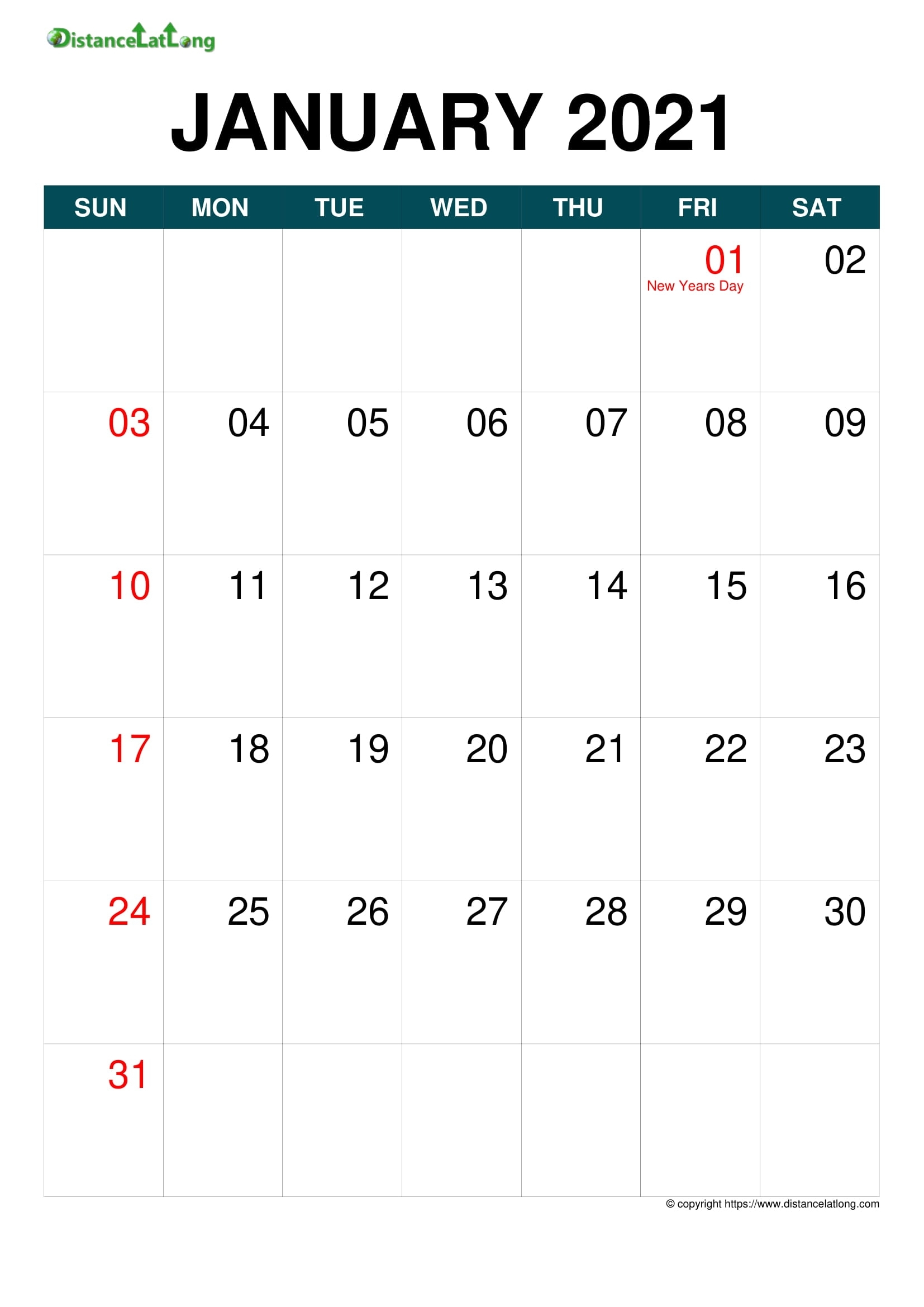 Holiday Year 2020-2021 Calendar Templates, Free Printable