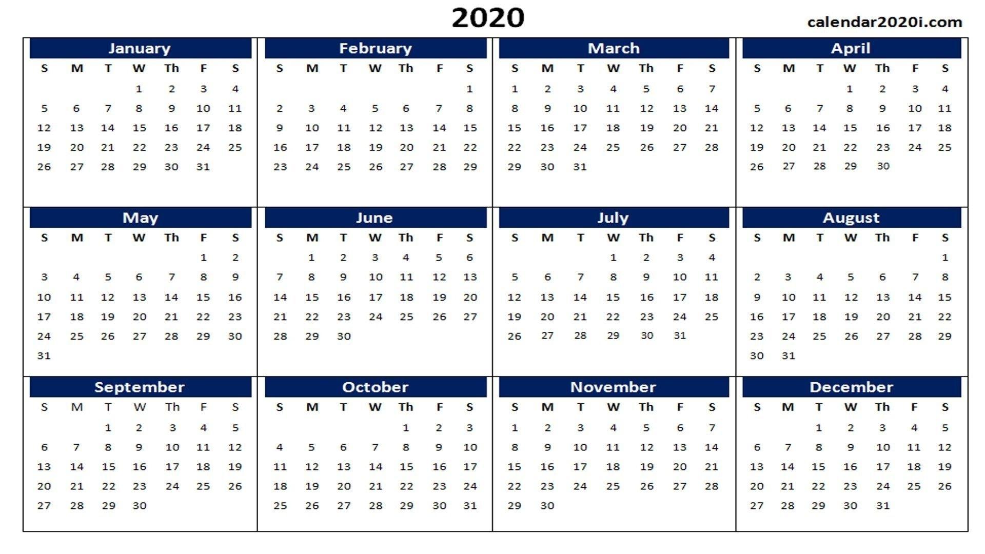 Incredible Microsoft Word Calendar 2020 Template In 2020