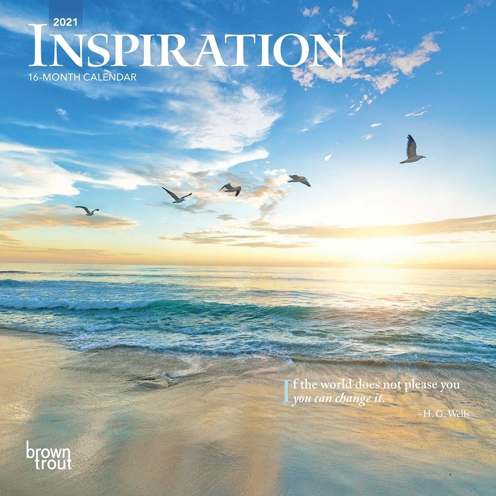 Inspiration 2021 7 X 7 Inch Monthly Mini Wall Calendar