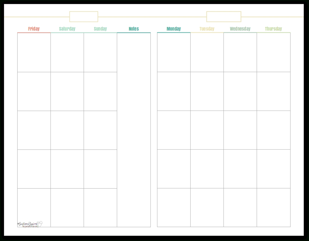 Introducing My New Blog Planner Printables!!! - Scattered