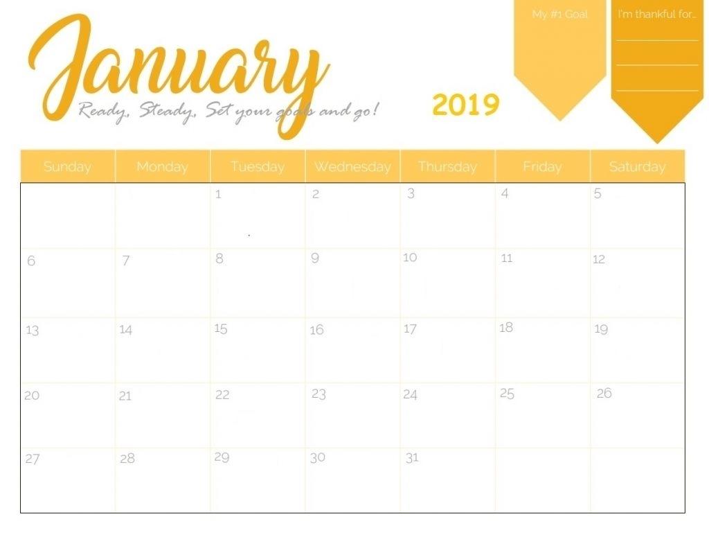 January 2019 Iphone Calendar Wallpaper | Calendar Printables