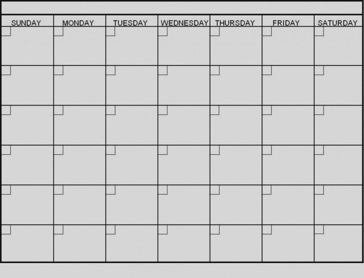Latest Blank 6 Week Calendar Template Printable 2 Planner