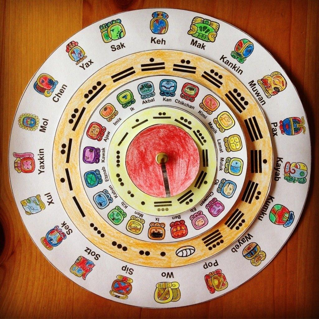 Make Your Own Maya Calendar   Mayan Calendar, Maya Calendar