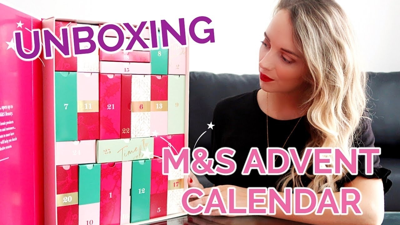 Marks And Spencer Advent Calendar 2018 Unboxing | Paula Holmes