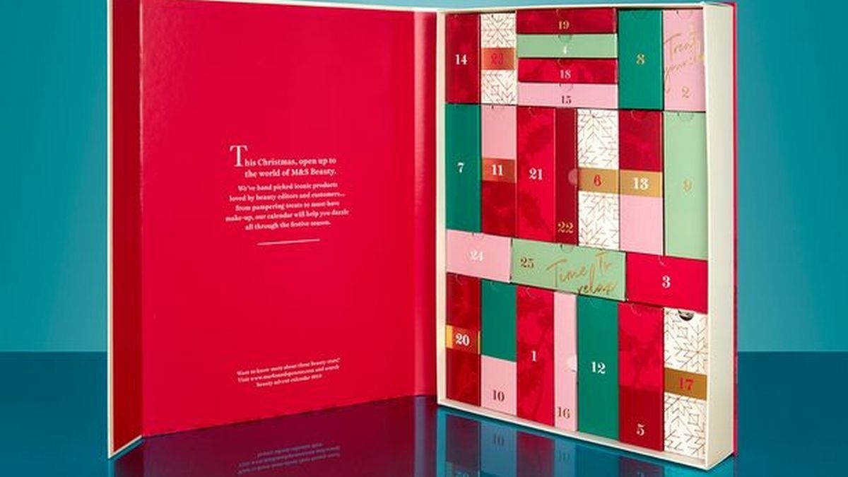 Marks And Spencer Launches £35 Beauty Advent Calendar Worth