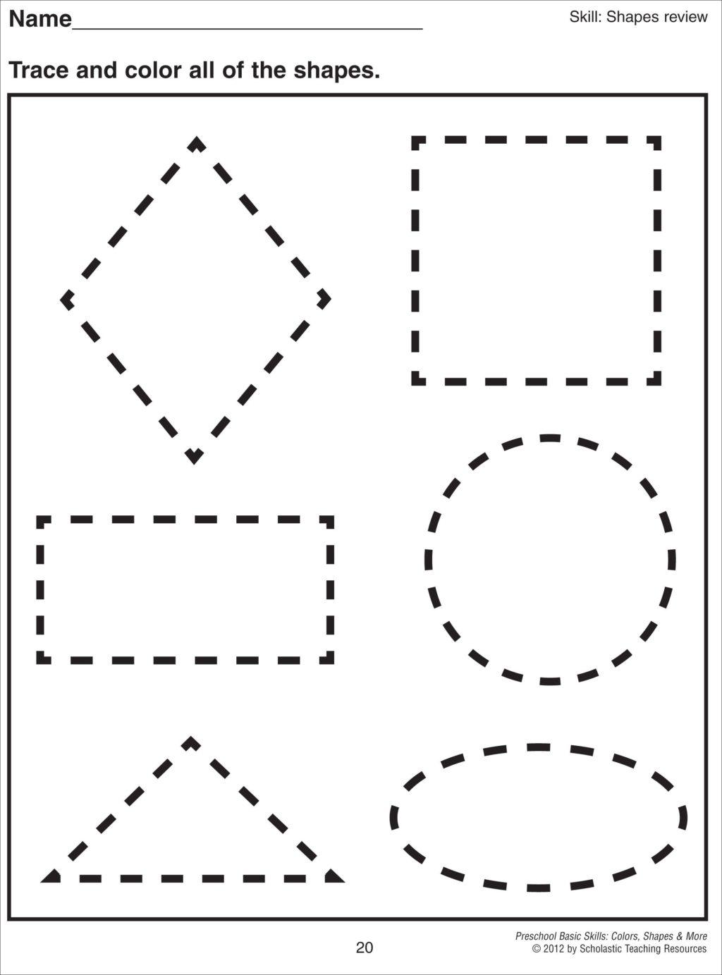 Math Worksheet ~ Mathheetheets Preschool Free Printable
