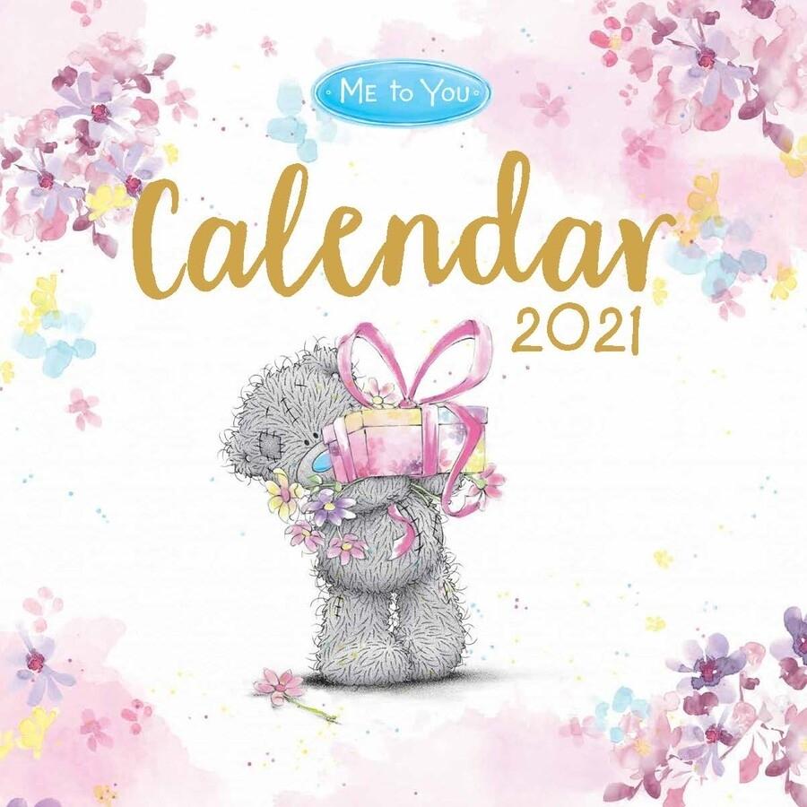 Me To You 2021 Square Wall Calendar