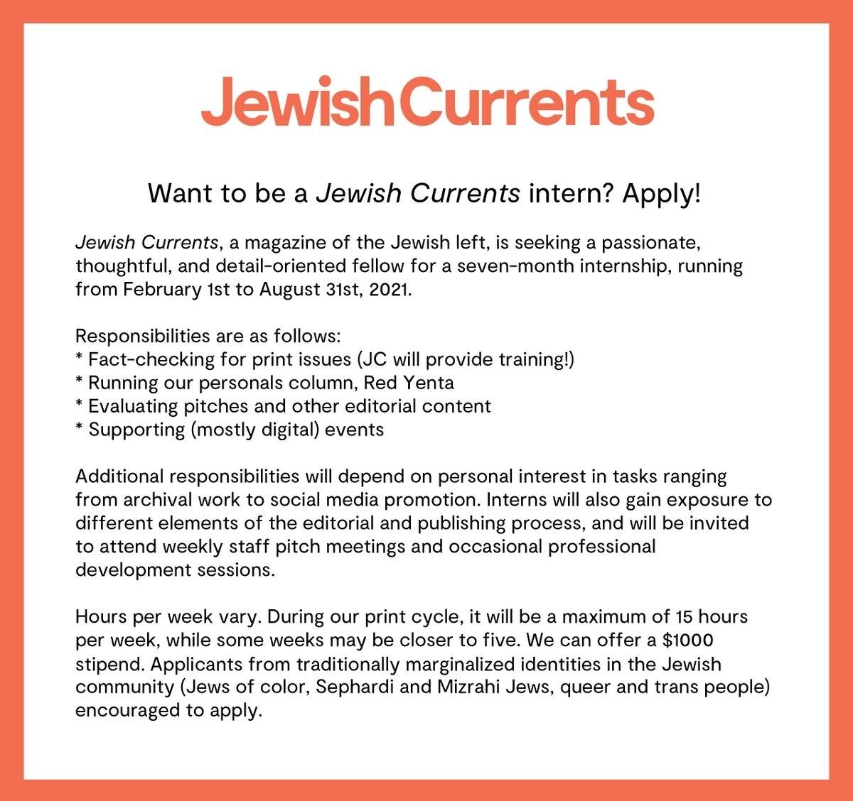 Media Tweetsjewish Currents (@Jewishcurrents) | Twitter