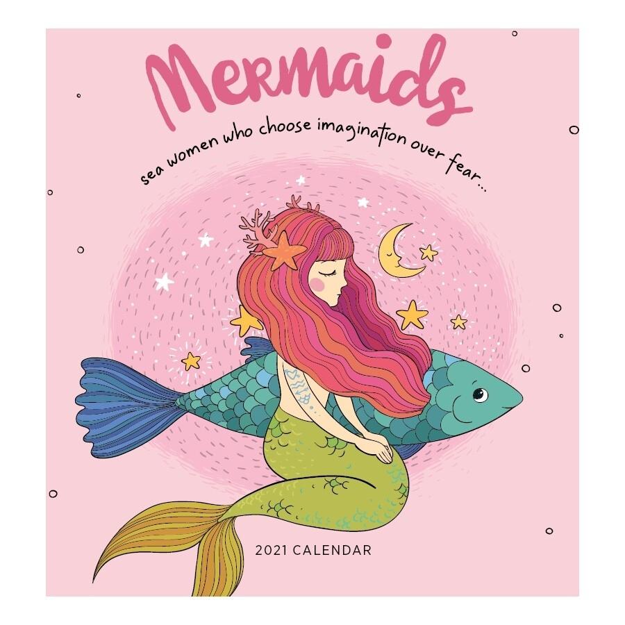 Mermaids Calendar 2021
