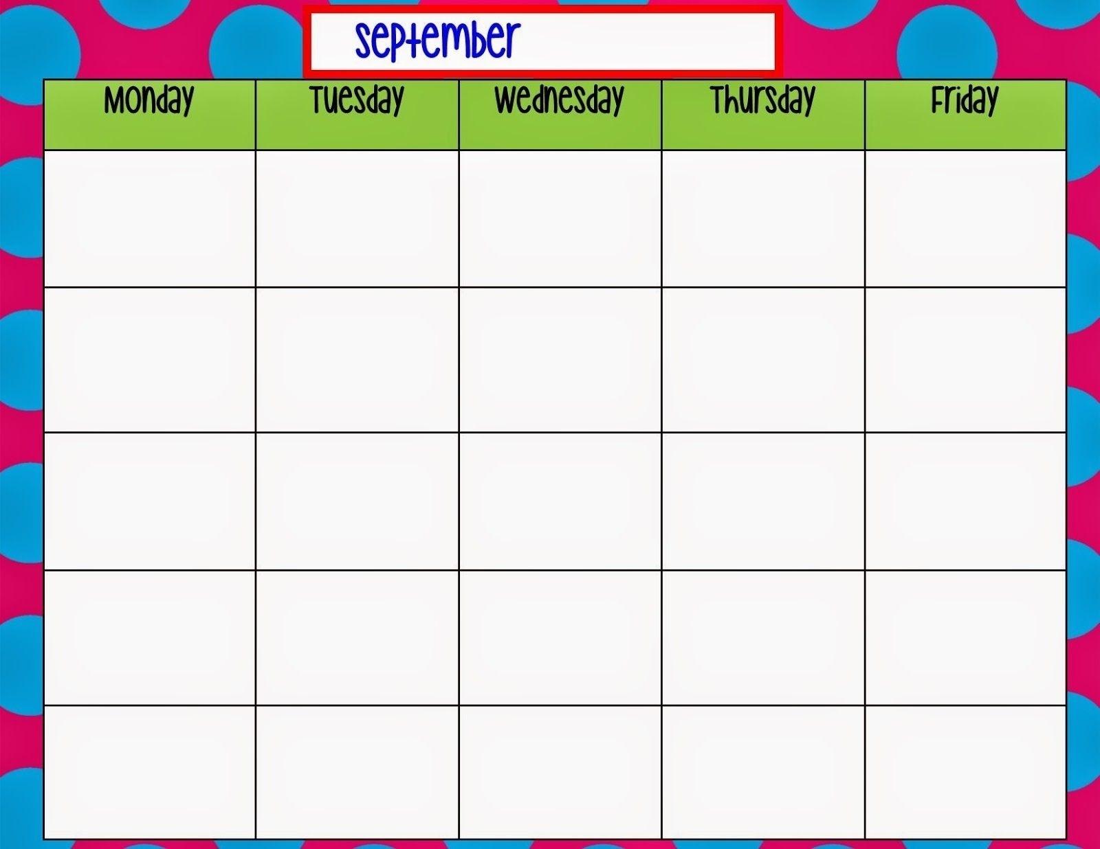 Monday Thru Sunday Calendar In 2020 | Weekly Calendar