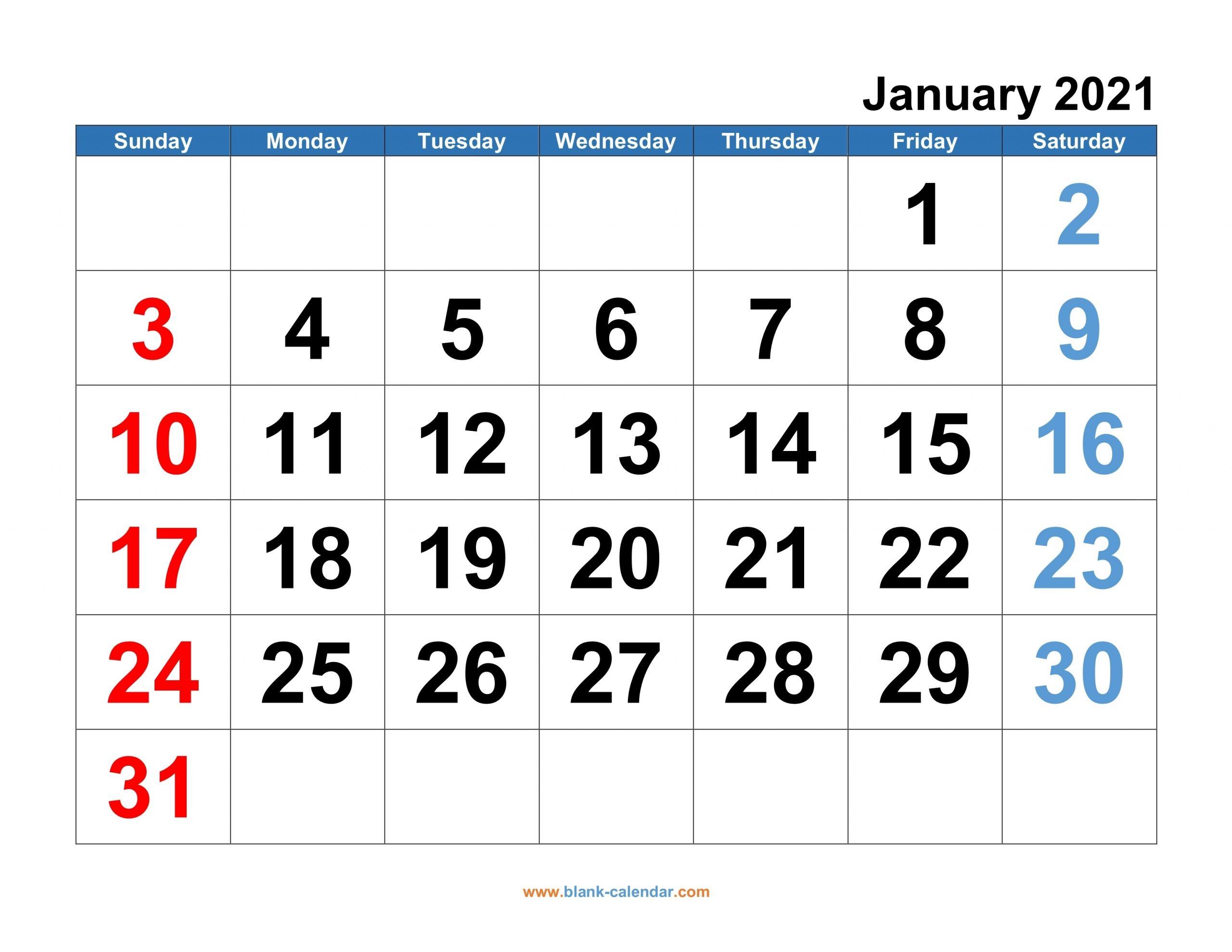 Week Wise Calendar 2021 Pdf Download