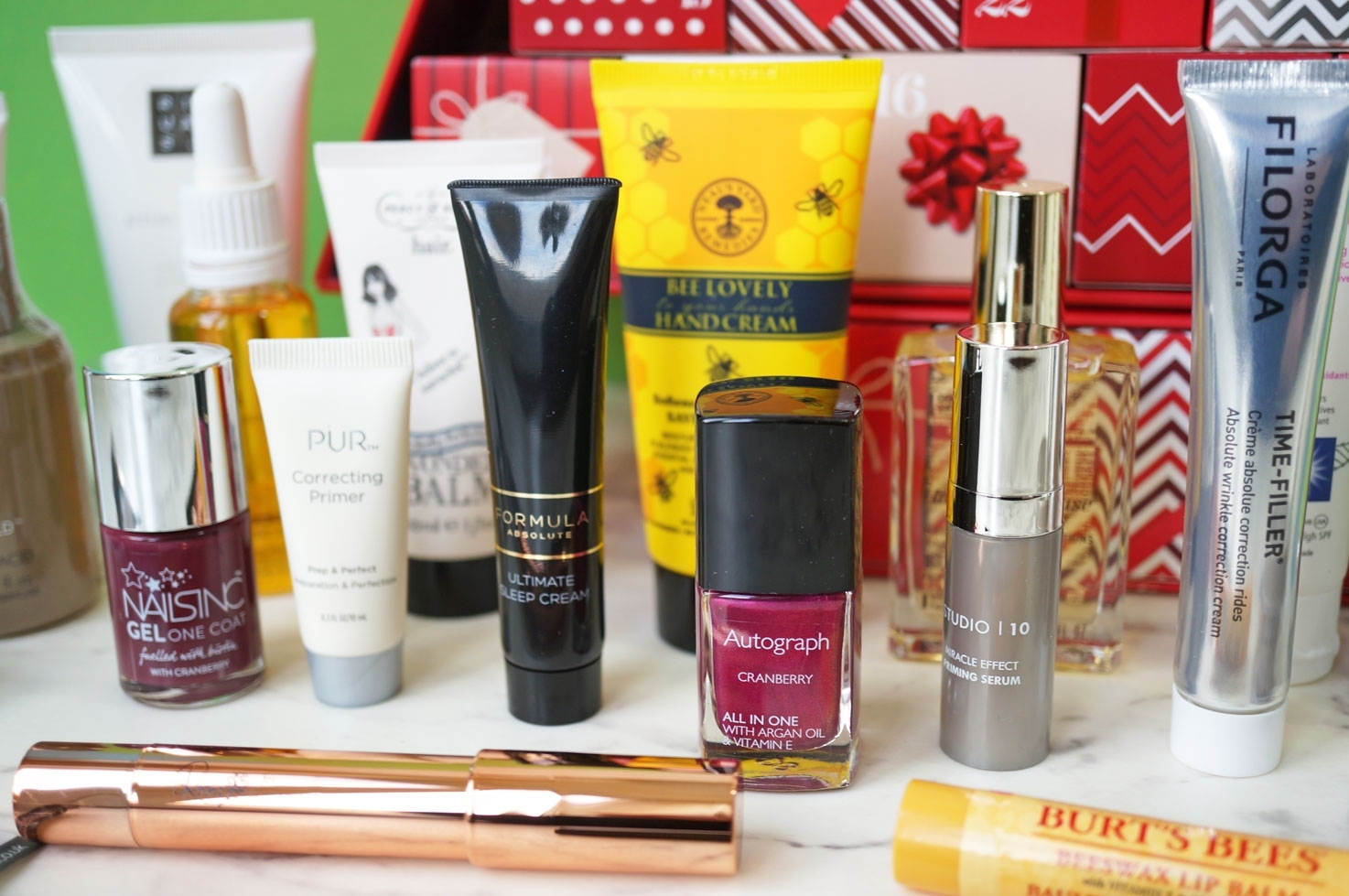 M&S Beauty Advent Calendar 2016 – Spoiler!