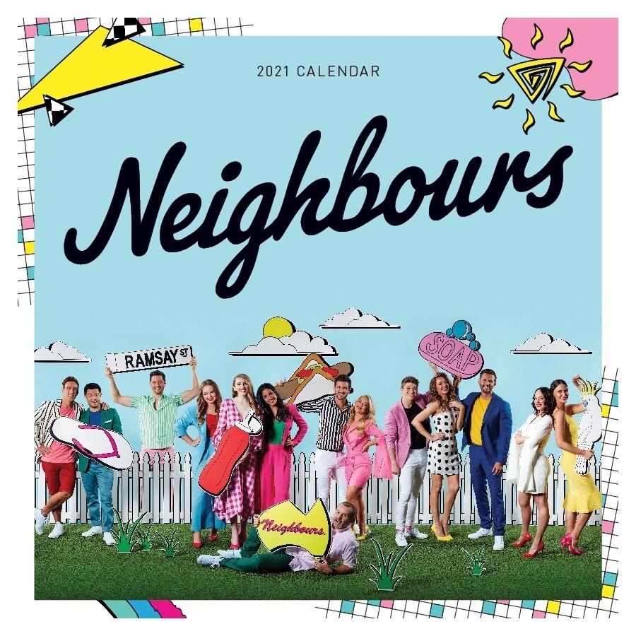 Neighbours 35Th Anniversary 2021 Wall Calendar