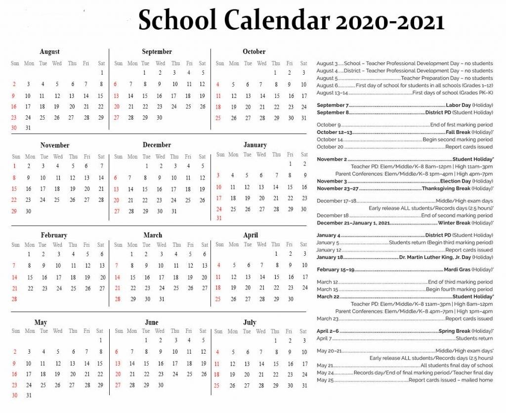 Nyc School Holidays 2020-2021 | Nyc School Calendar