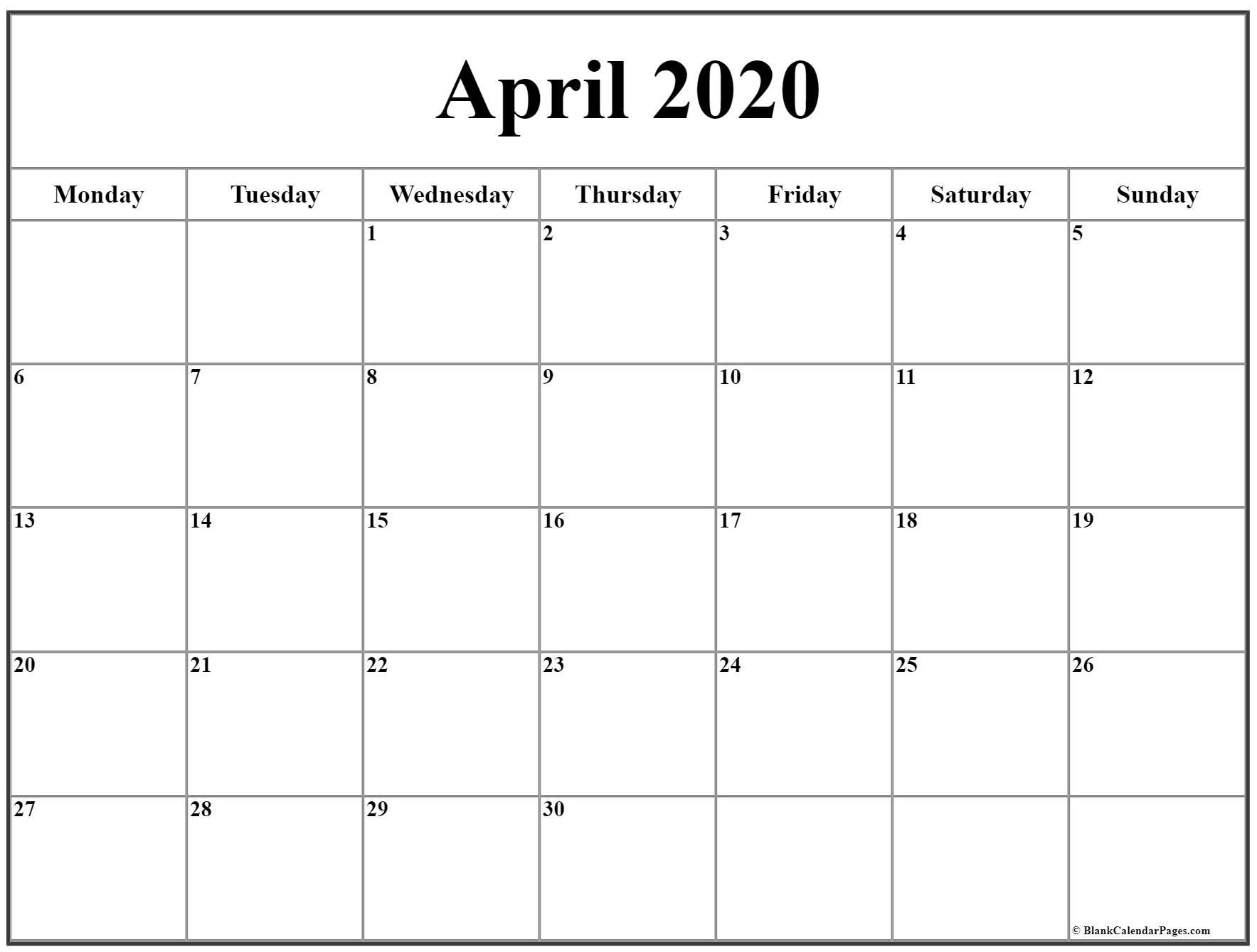 Perfect Printable Sunday Through Saturday Calendar In 2020
