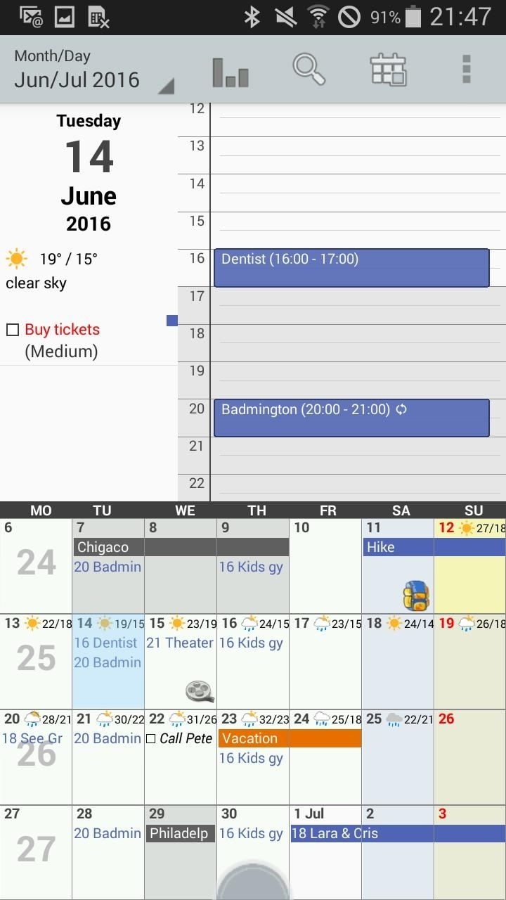 Personal Calendar Free For Android - Apk Download