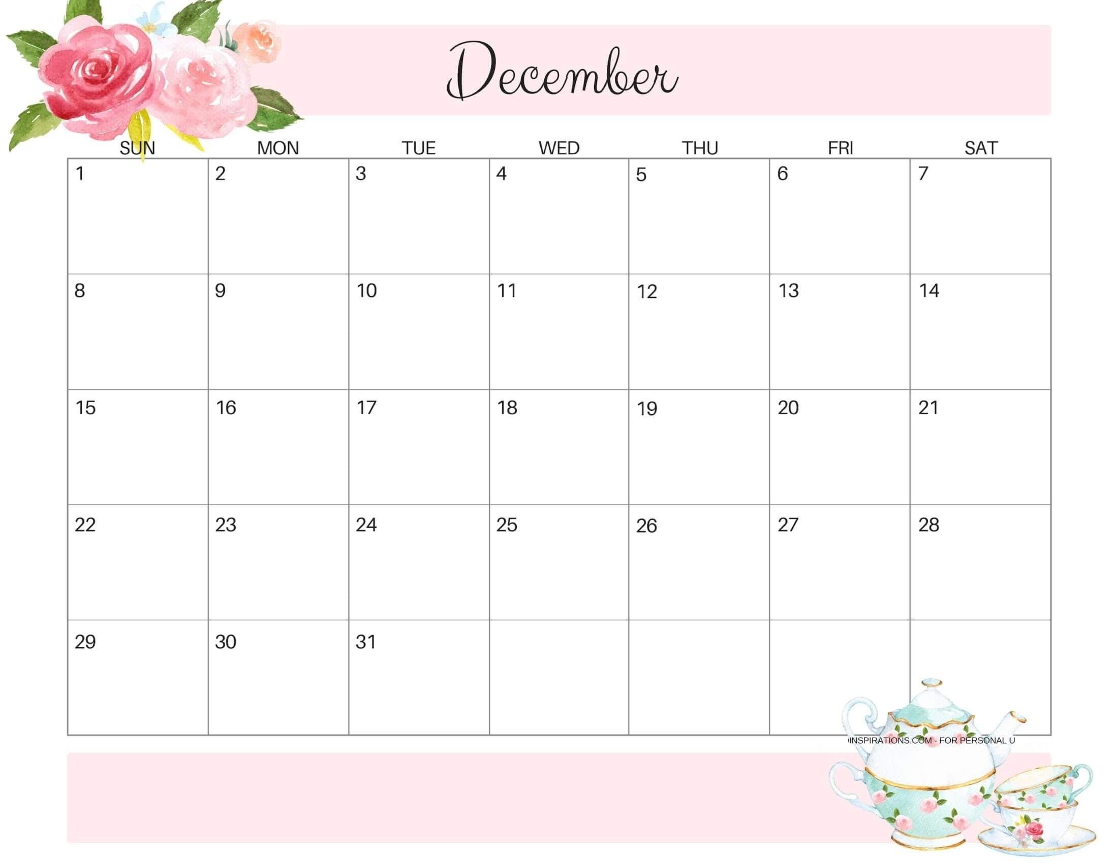 Pin On December Calendars