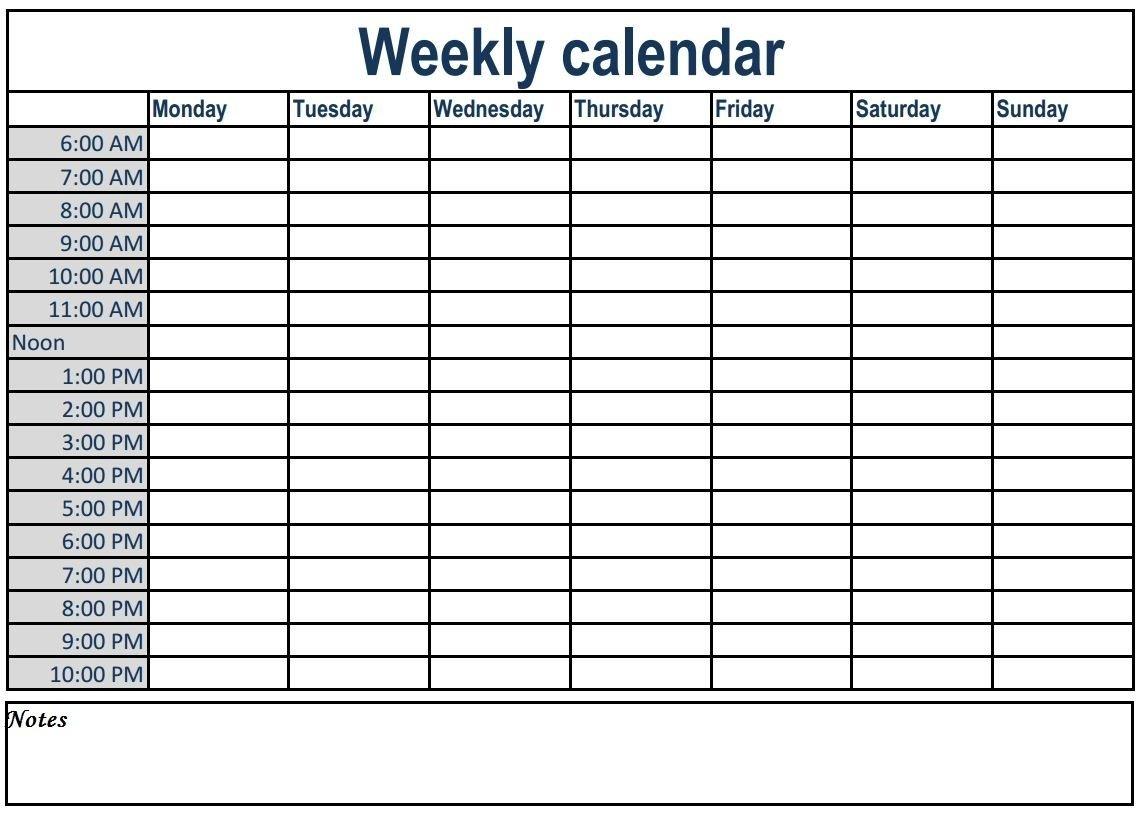 Pin On Weekly Calendars