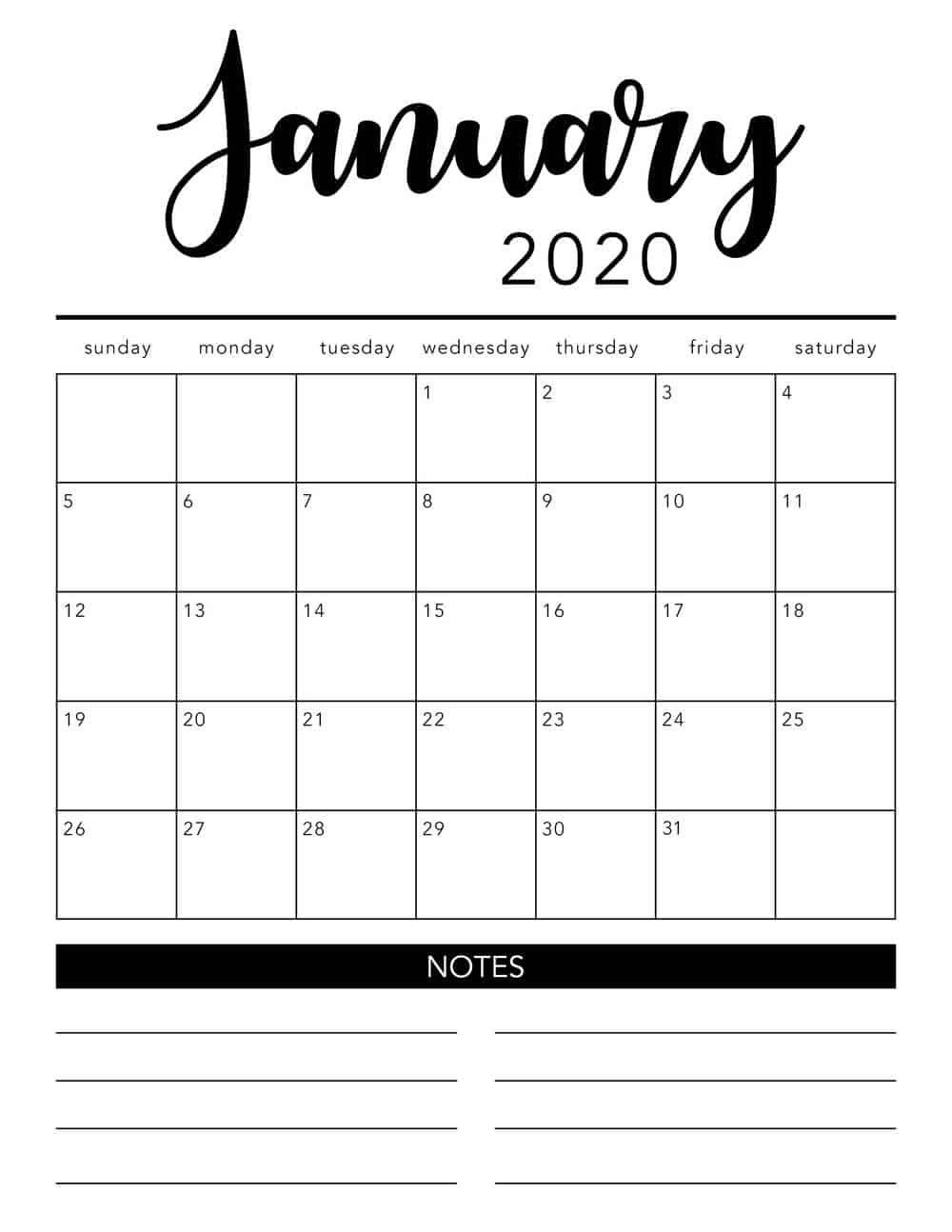 Pincarie Combs-Demarr On Work In 2020 | Monthly Calendar