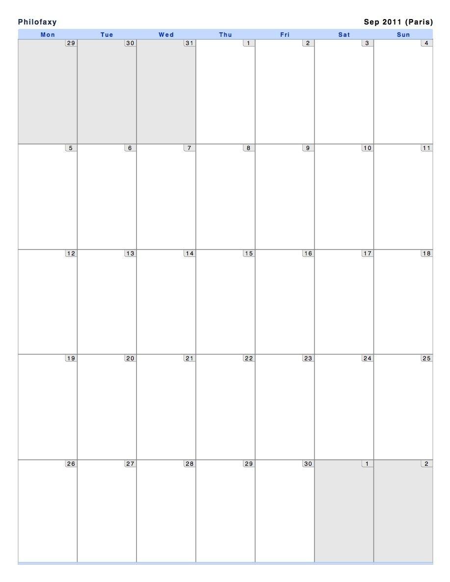 Print Outlook Calendar Landscape Mac In 2020 | Print