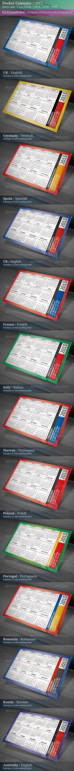 Printable 2013 Calendar Templates | Psddude