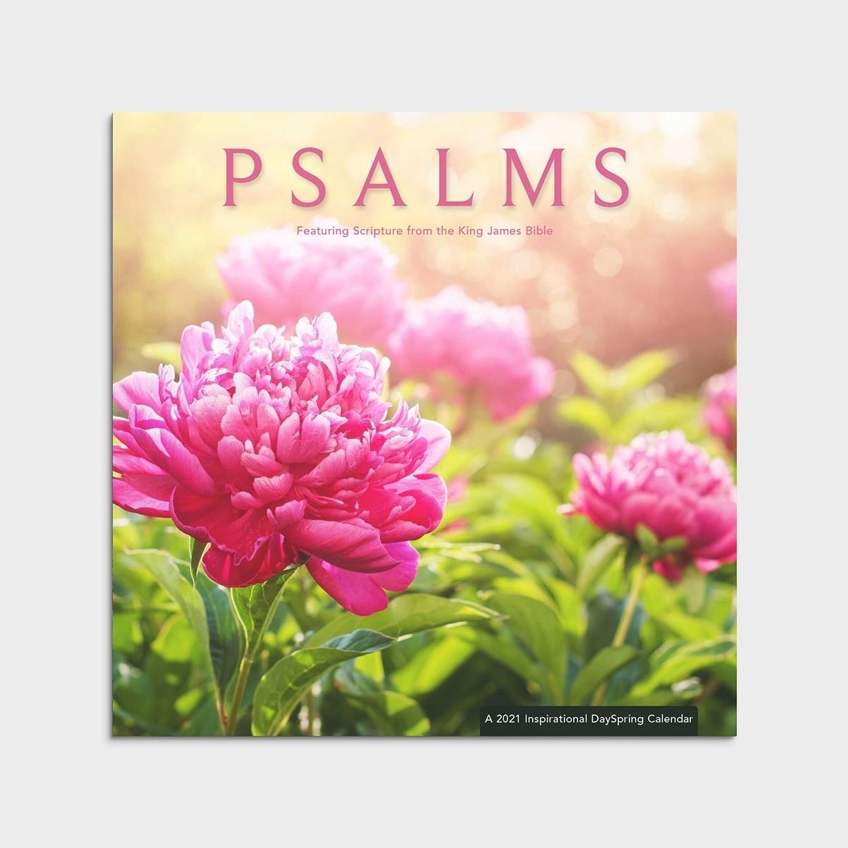 Psalms - Kjv - 2021 Wall Calendar