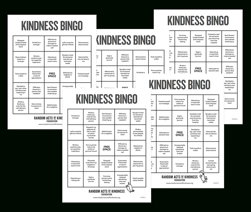 Random Acts Of Kindness | Kindness Printables