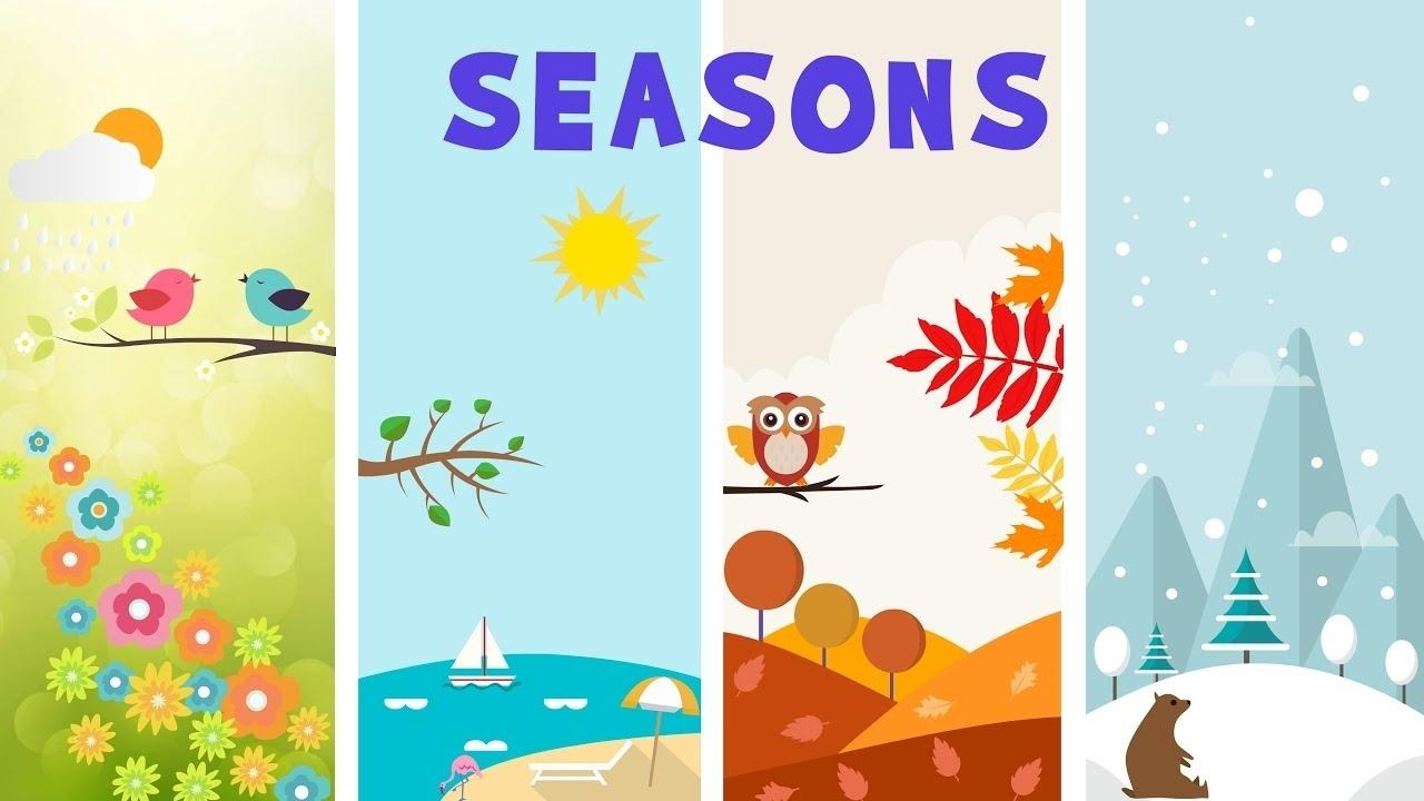 Seasons In Earth - Video For Kids