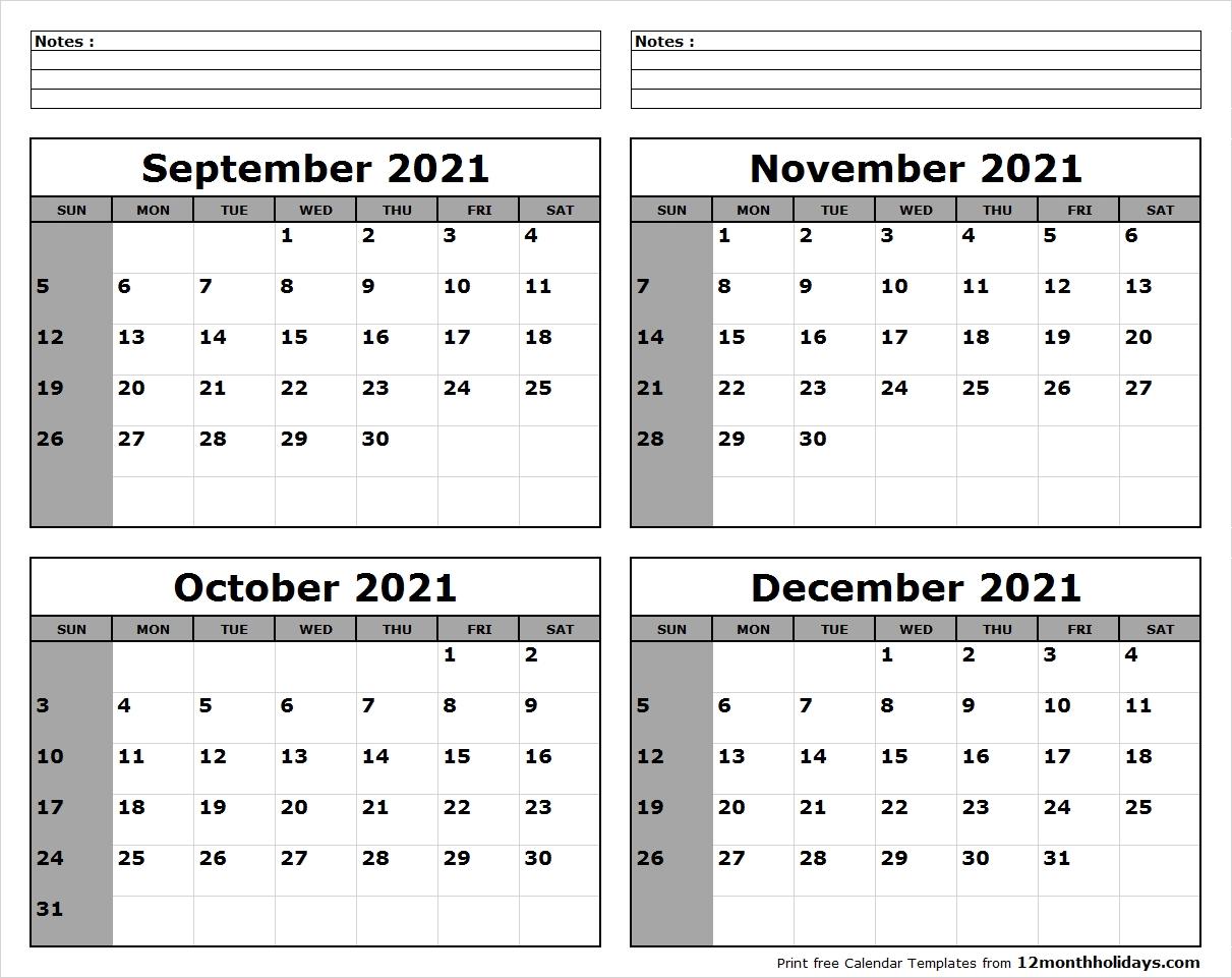 September-October-November-December-2021-Calendar-To-Print