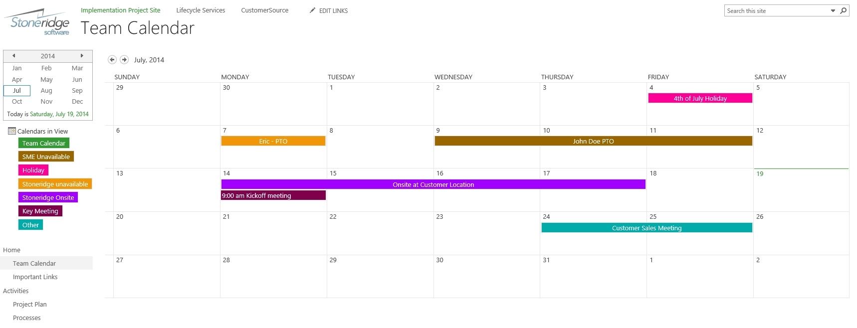 Sharepoint 2013 Calendar Overlay Duplicate - Calendar