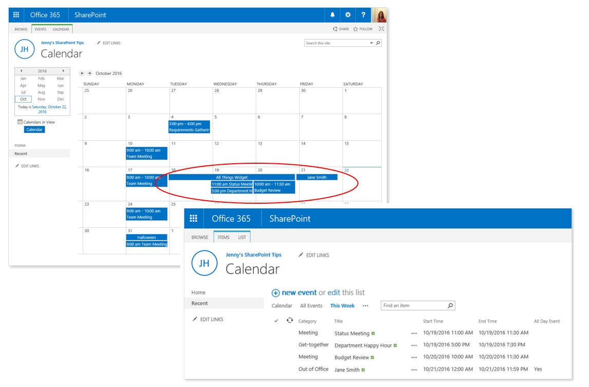 """Show """"This Week"""" Only 