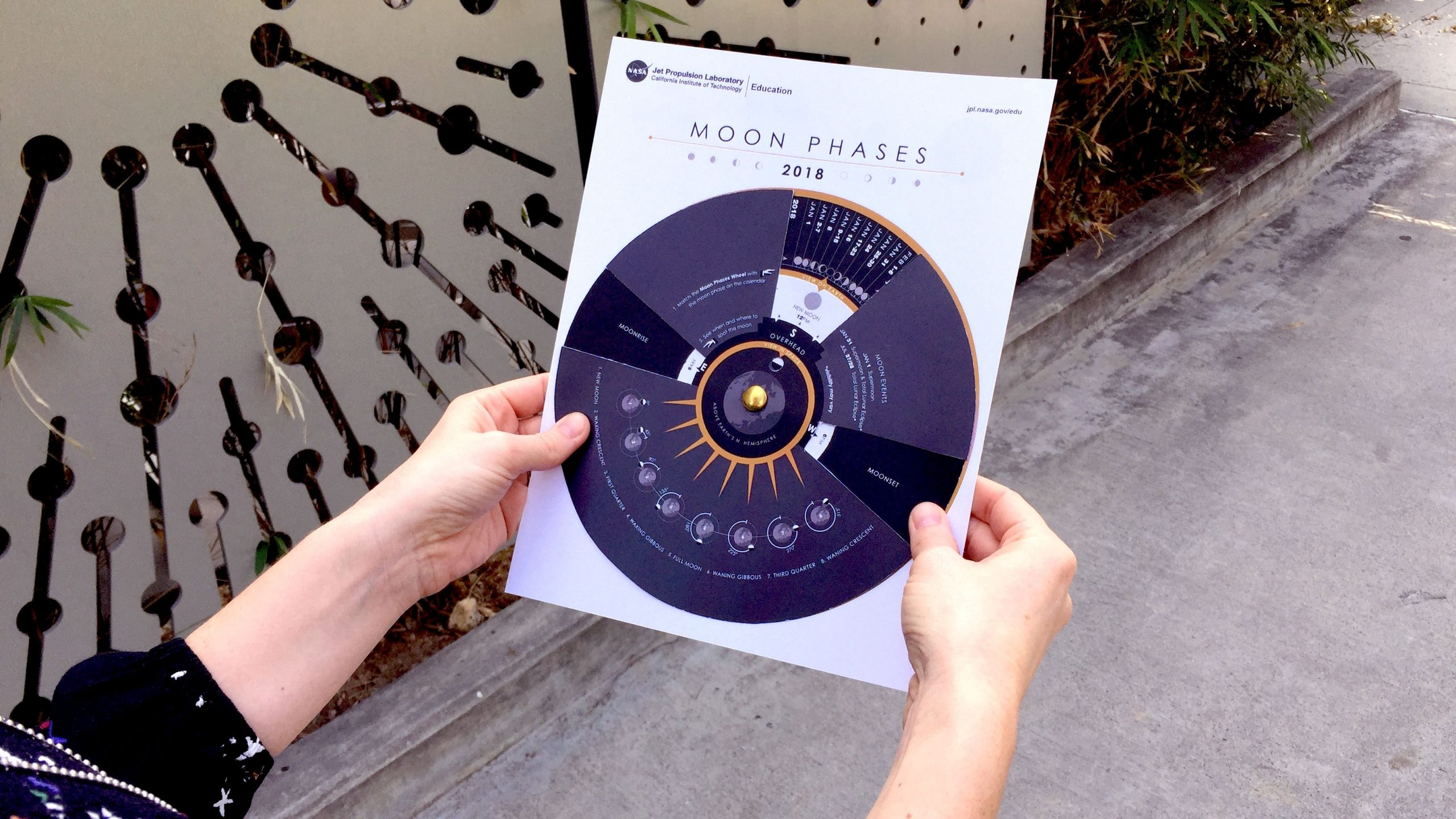 Student Project: Make A Moon Phases Calendar And Calculator