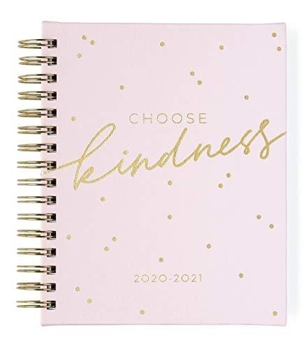 2020-2021 Eccolo Spiral Agenda Planner, Choose Kindness