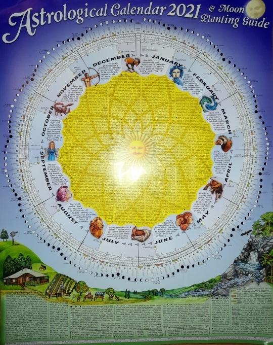 2021 Astrological Calendar & Moon Planting Guidethomas