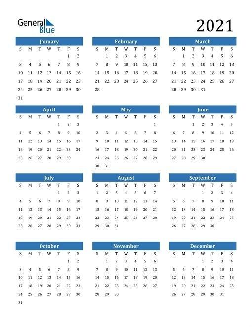 2021 Calendar Editable, #Calendar #