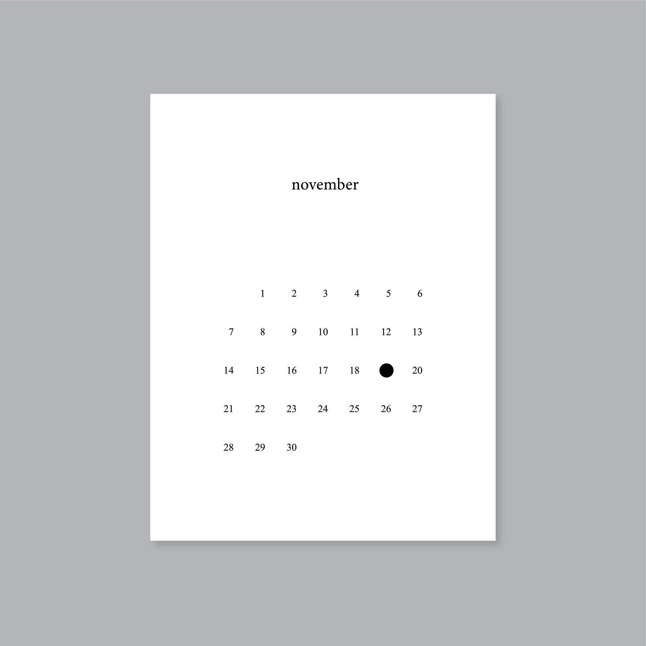 2021 Calendar Planner Printable Full Moon Calendar Letter