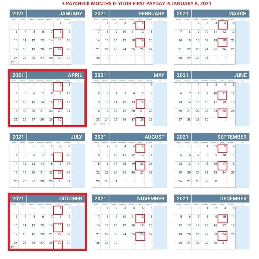 2021 Federal Pay Period Calendar - Calendar Inspiration Design