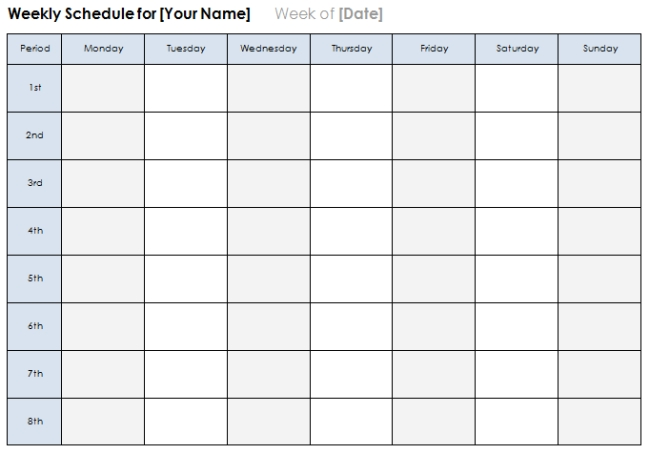 3 Day Calendar Template 3 Doubts You Should Clarify About