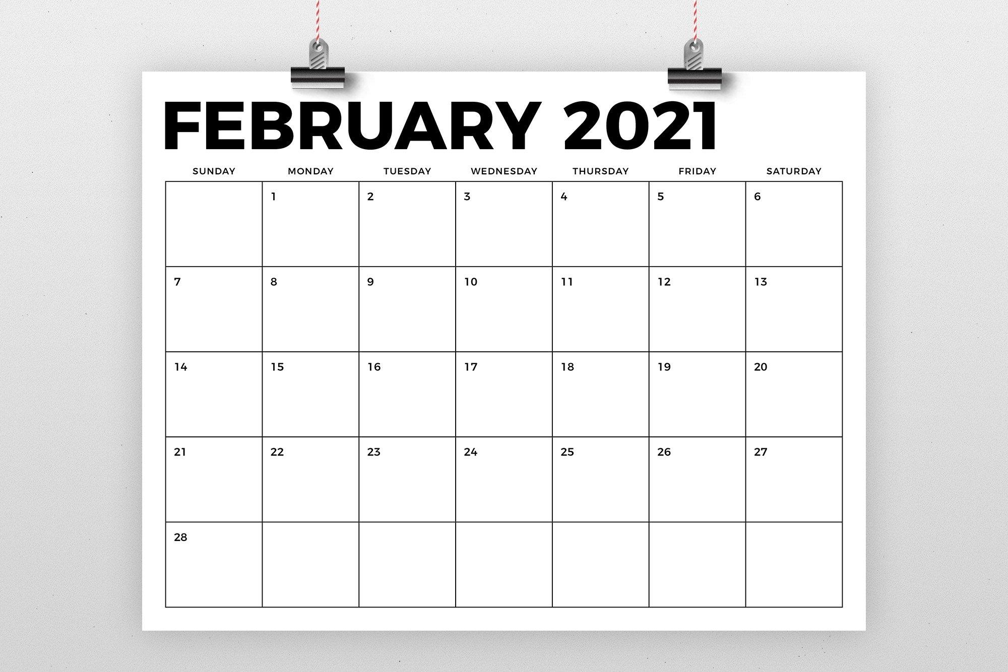 8.5 X 11 Inch Bold 2021 Calendar (438443) | Flyers