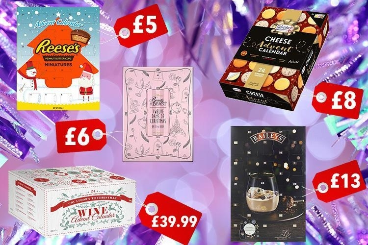 Advent Calendars For Christmas 2017 - From Cheese And Wine