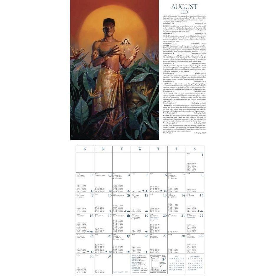 Astrological Calendar 2021   Printable Calendars 2021
