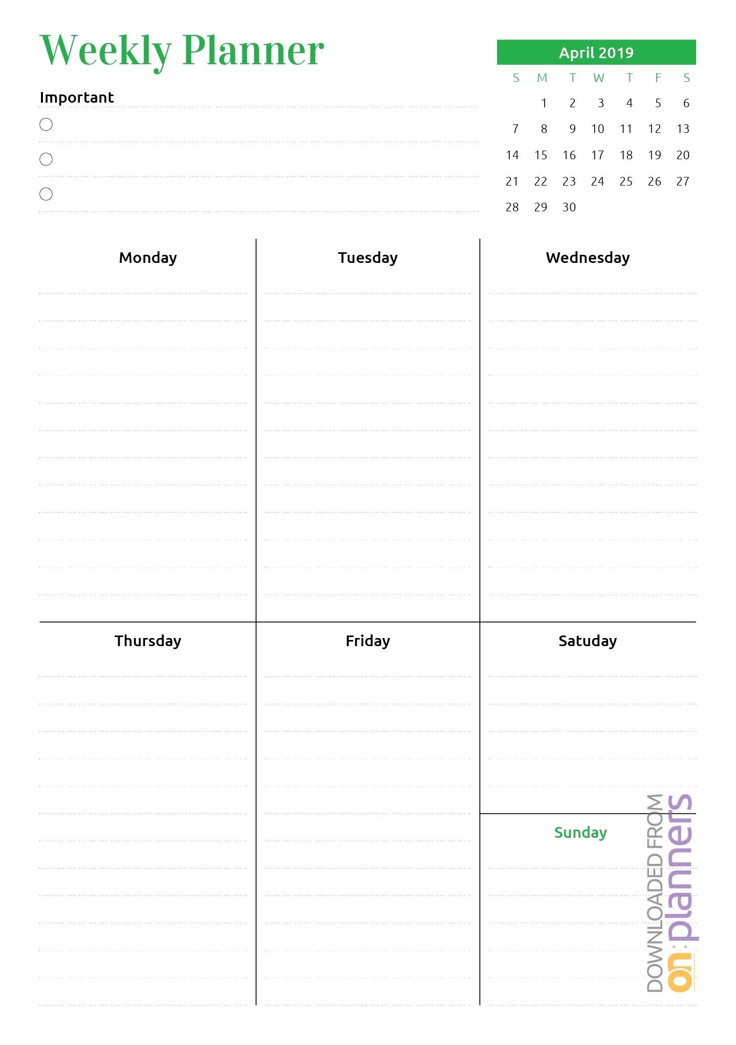 At A Glance Lined Monthly Calendar Printable   Calendar
