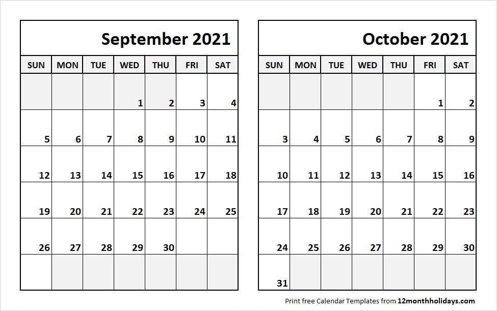 August September October 2021 Calendar | Calvert Giving
